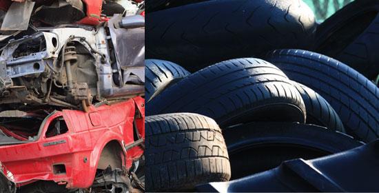 Autos und Reifen