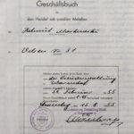Geschäftsbuch Markowski
